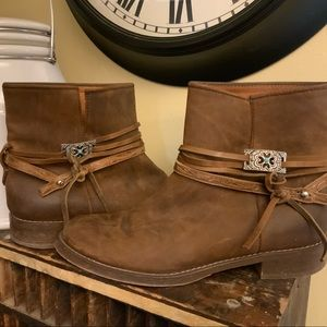 Madewell short leather boot
